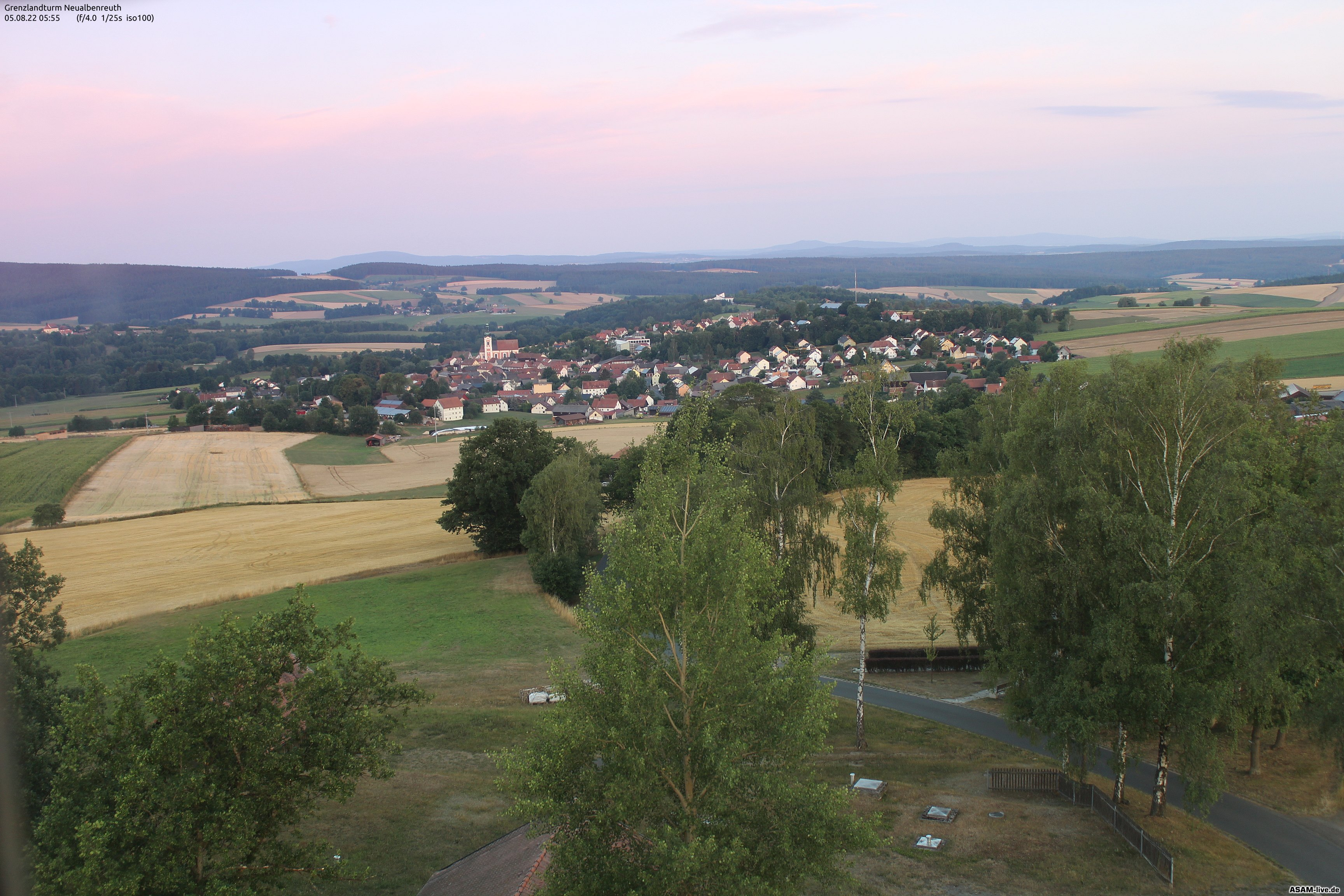 WebCam am Grenzlandturm