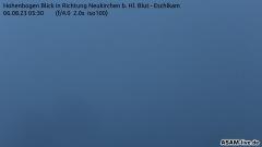 Aktuelles Webcam-Bild Hoher Bogen - Blick Richtung Osser